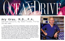Ocean Drive Magazine Article