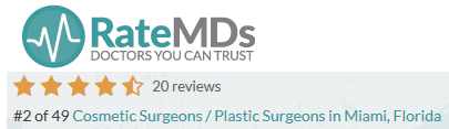 Scarless Breast lift Surgeon reviews Miami Ratemd