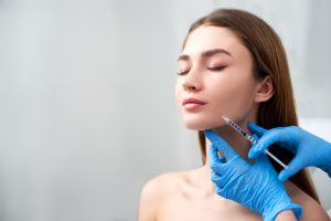 Dermal Fillers to sculpt the jawline in Miami